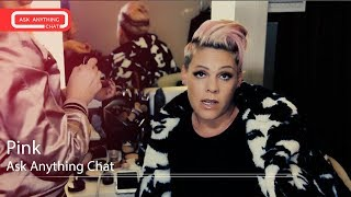 Pink Talks About The CMA Awards, Her Exotic Dance Name & Her Breakfast Specialty