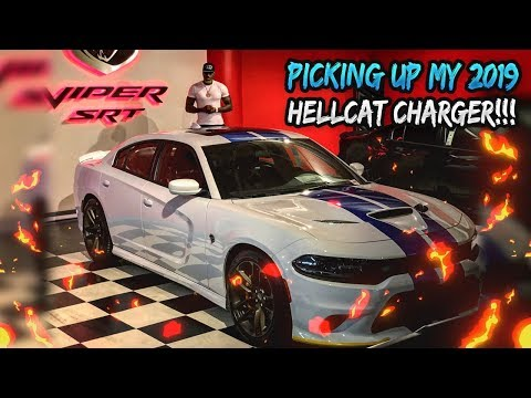 UNBELIEVABLE!!!! TAKING DELIVERY OF MY 2019 HELLCAT CHARGER!!!