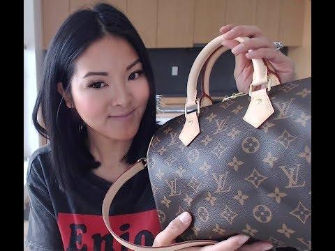 3eb96cccdd36 What`s in My Bag  Louis Vuitton  speedy 20 Bandouilere Empreinte ...