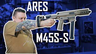 ARES - M45S-S (Dark Earth) - TANIEMILITARIA.PL