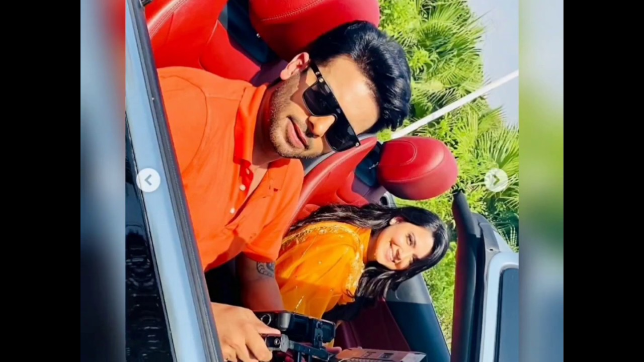 Mankirt Aulakh & Nimrat Khaira At Shoot Of Which Song Pyar Da Saboot Or Vail !! Guess what's coming