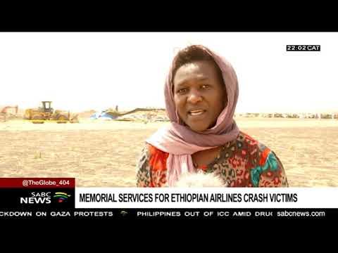 Symbolic burial ceremony held for Ethiopia airline crash victims Mp3