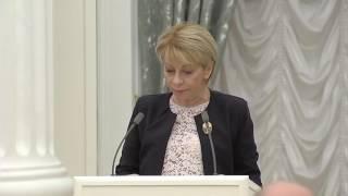 Речь доктора Лизы (Елизаветы Глинки) на церемонии награждения