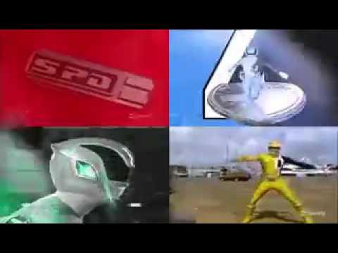Power Rangers SPD Morph Future