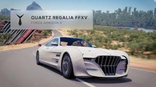 Final Fantasy XV Car at Online Races - Forza Horizon 3 - Quartz Regalia S1 Races
