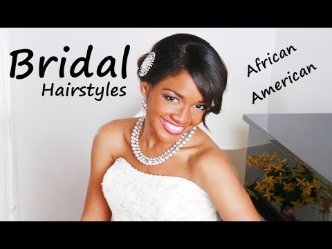 Beautiful Bridal Hairstyles : African american beautiful bridal hairstyles & haircuts!! youtube