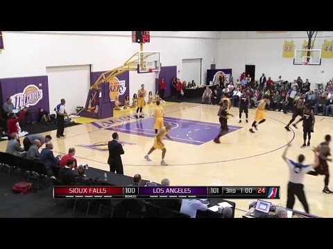 Highlights: Marcus Posley (29 Points)  Vs. The D-Fenders, 12/28/2016