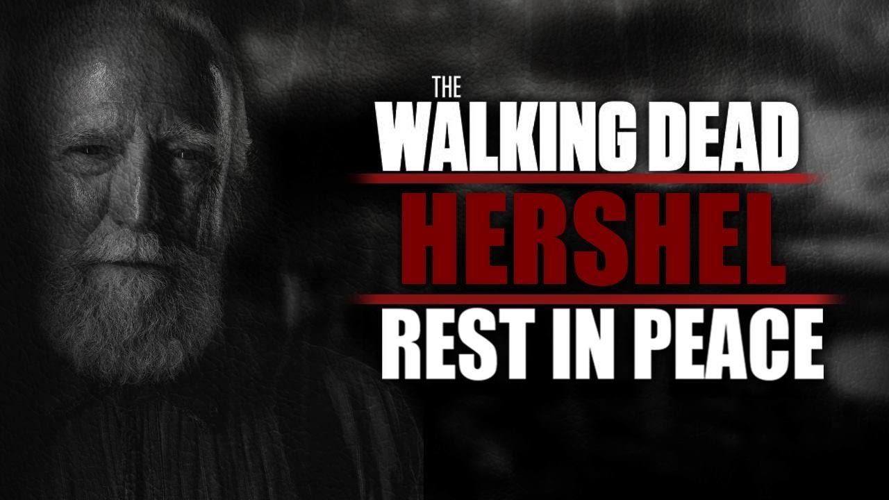 The Walking Dead Hershel Tot