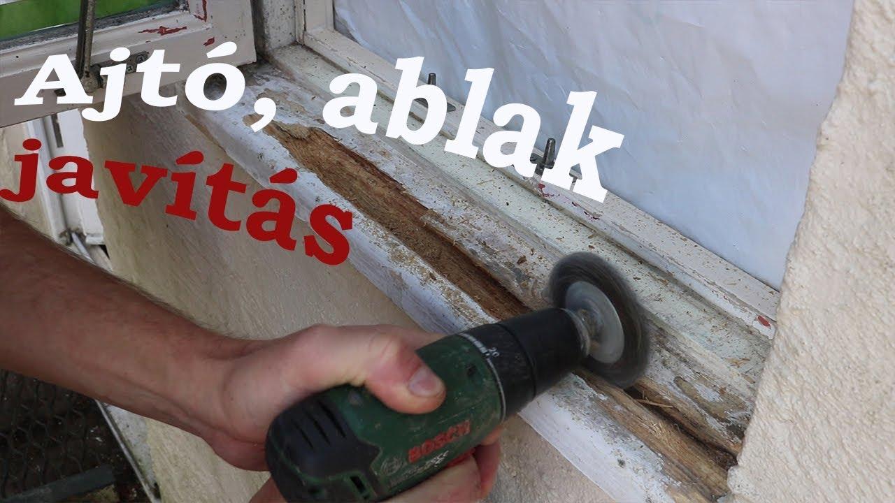 Ablakkeret javítás