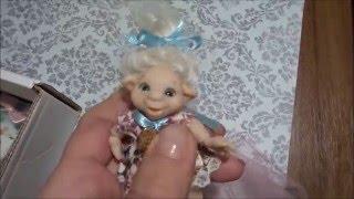 Обзор на недорогие авторские шарнирные куклы из полимерной глины.