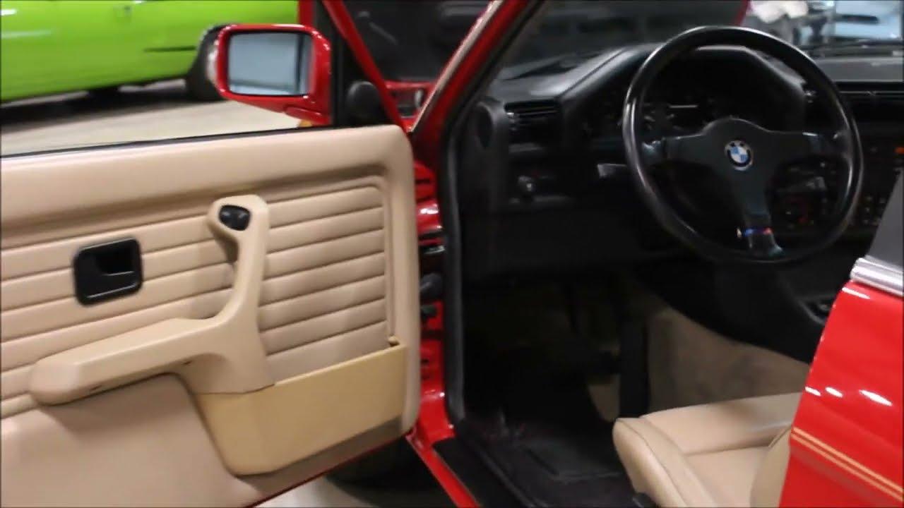 1989 Bmw 325i Red