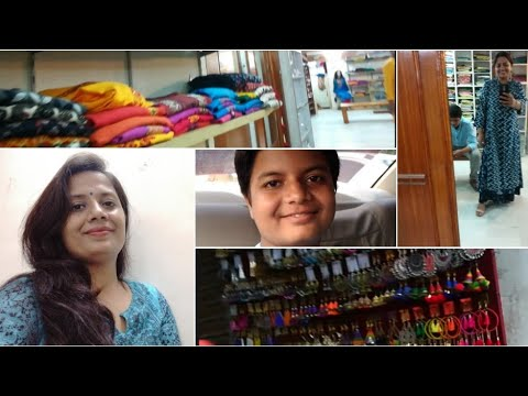 A Day in My Life + Kamla Nagar Delhi Ethnic Shopping Vlog 2017