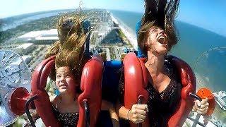 Moms & Daughters #2 | Funny Slingshot Ride Compilation