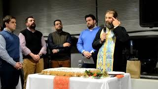 Έκοψε την πρωτοχρονιάτική πίτα του ο ΙΝ Αγίου Τρύφωνος Τρίπολης