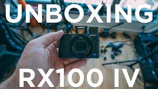 MELHOR CÂMERA DE VLOGS - SONY RX100 IV (UNBOXING E TESTE)