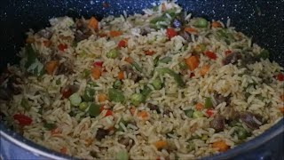 How to make party fried rice