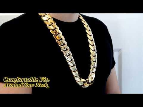 Big Huge Fat Chunky 2 Kilo 30mm Miami Cuban Link Chain HD Hand Made Custom Daniel Jewelry Inc