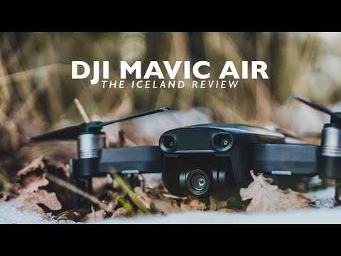 DJI MAVIC AIR | The Iceland Review - BEST 4k Drone For TRAVEL FILMMAKING? + FREE LUT Download