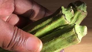 OKRA FOR GAIN BUTTOCK AND HIPS FOR 3 DAYS ONLY | TASTE GOOD | SMELL FRESH