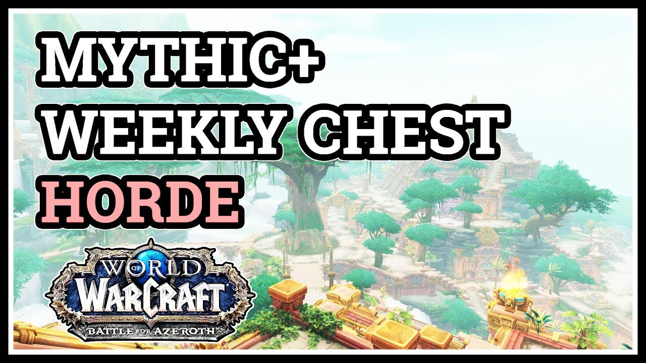 how to get a weekly chest in wow
