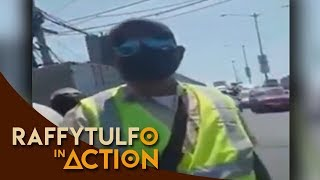 VIRAL VIDEO NG SIGANG TRAFFIC ENFORCER SA PARAAQUE INAKSYUNAN NI IDOL RAFFY