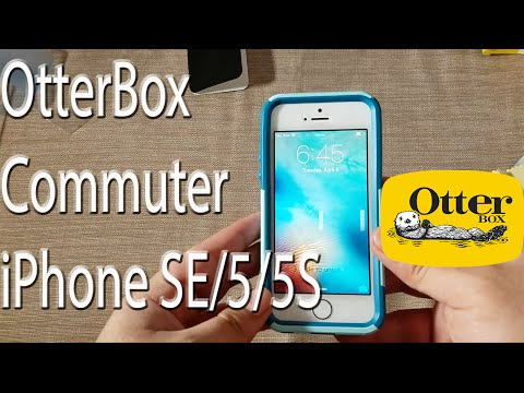 iPhone SE: Otterbox Commuter Series Case + Screen Protector
