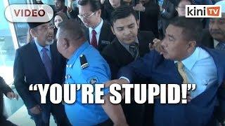 You're stupid! - Umno MPs quarrel at Parliament lobby
