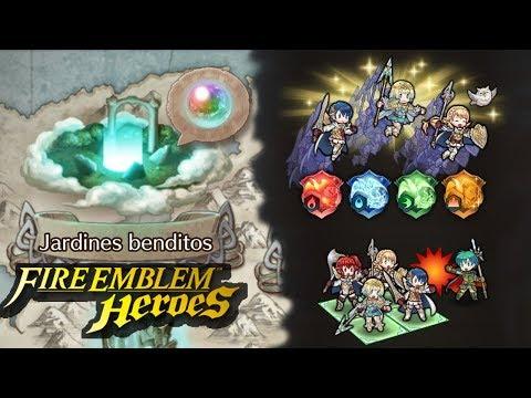 ¡Jardines benditos, bendiciones y organización de equipos! ~ Fire Emblem Heroes