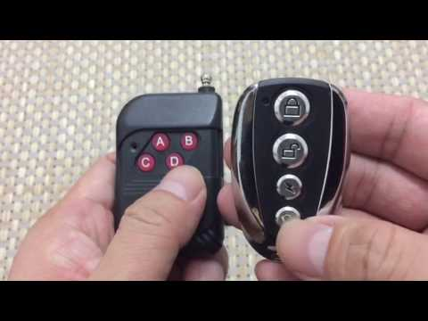 How to use: Blue light remote control Duplicator
