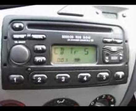 Ford Radio CD 6000  YouTube