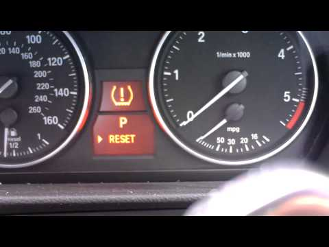 Reset Tyre Pressure BMW BC