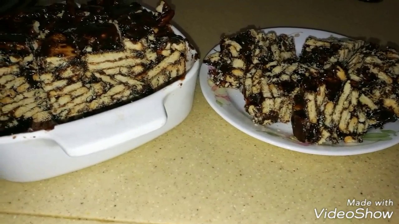 Kek Batik Tanpa Telur Cake Batik Without Egg By Linda Hussin
