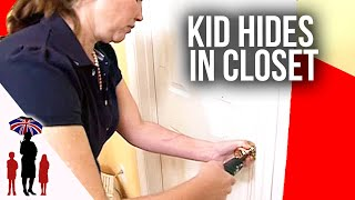 Mother Unscrews Door Knob To Get Child Out Of Closet | Supernanny