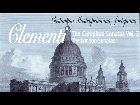 Clementi: Complete Sonatas Vol  III