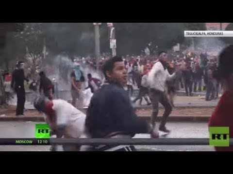 Honduras Clashes: Violent protests sweeping country over alleged election fraud