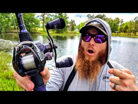 Fishing w/ MOST EXPENSIVE Bass Fishing Combo (Over $600!)