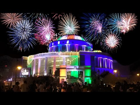 FIREWORKS SHOW - NEW YEAR 2017 | NMMC HEADQUARTERS, CBD BELAPUR (INDIA)
