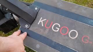 Kugoo G-booster реальный отчёт за два года