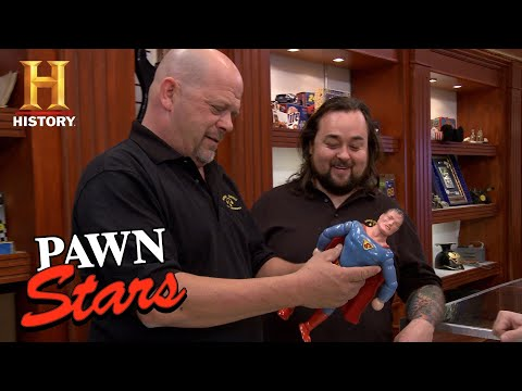 Pawn Stars: 1939 1st Superman Doll Ever Made (Season 12) | History