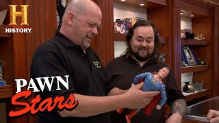 Pawn Stars: 1939 1st Superman Doll Ever Made | History