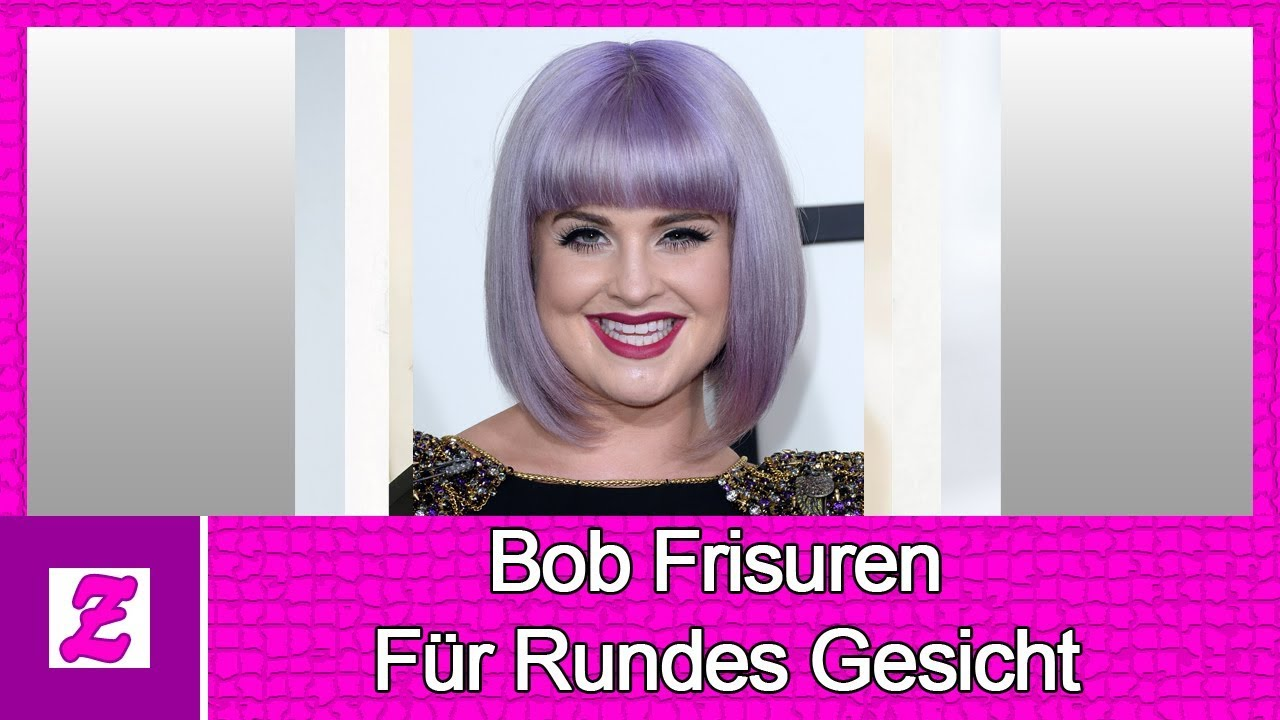 Popular Bob Frisuren Für Rundes Gesicht Youtube