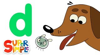the letter d learn the alphabet super simple abcs