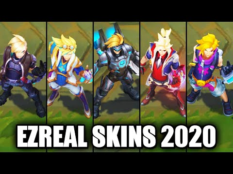 All Ezreal Skins Spotlight 2020 (League of Legends)