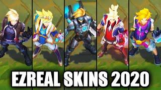 All Ezreal Skins Spotlight 2020 (League of Legends)