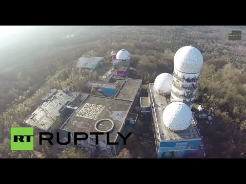 Germany: Check out this SPOOKY former NSA spy station via DRONE
