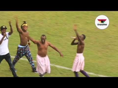 Lilwin, Akrobeto and Sumsum perform at Ghana@60 anniversary game