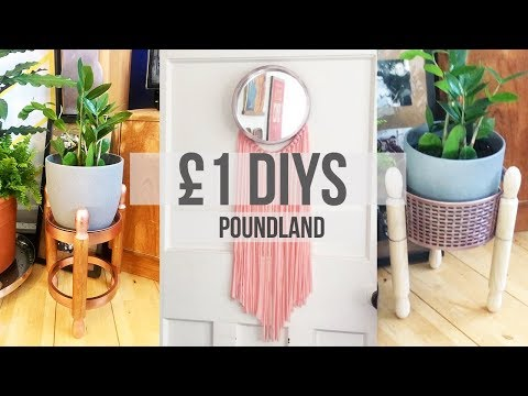 POUNDLAND DIYs | Budget Pound Dollar Hacks | Home Decor | 2019