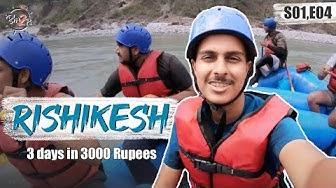 3 Days in 3000 Rs - Rishikesh | Ep.4 #bha2pa