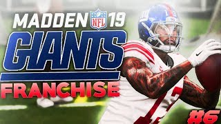 Stop Cam Newton! Madden 19 New York Giants Franchise Ep. 6