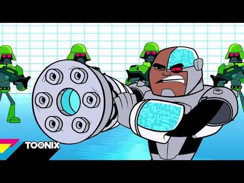 Teen Titans GO!   En skør ø   Toonix Danmark